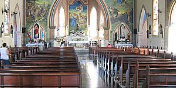Rancharia-SP-Interior da Igreja Matriz-Foto:Eduardo Dantas