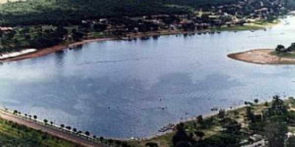 Rancharia-SP-Vista aérea do Balneário-Foto:marciosaz