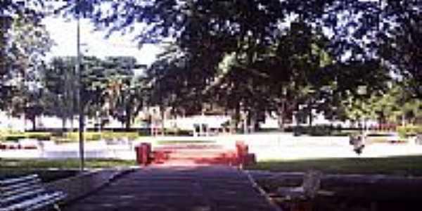 Praça da fonte em Regente Feijó-Foto:jose dos santos