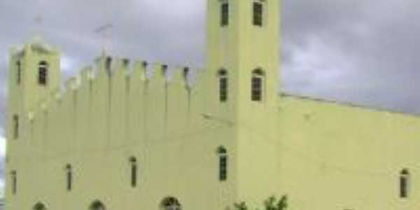 nova igreja matriz de são joão batista do triunfo de quijingue, Por clébio de monte cruzeiro