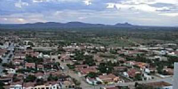 Vista parcial de Quijingue-BA-Foto:Flavinho Quijingue