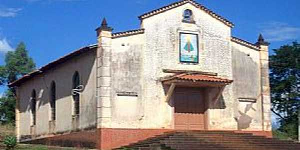 Restinga-SP-Capela de N.Sra.Aparecida na Comunidade Horto Boa Sorte-Foto:Leonardo Figueiredo