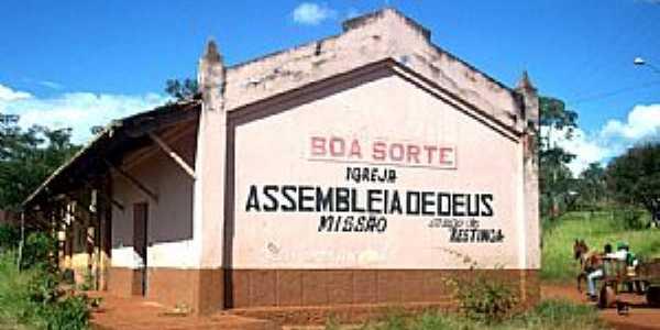 Restinga-SP-Igreja na antiga Estação no Distrito de Boa Sorte-Foto:Leonardo Figueiredo
