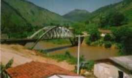 Ribeira - ponte antiga da cidade de Ribeira que  a enchente destruiu., Por Adriana  R B de O