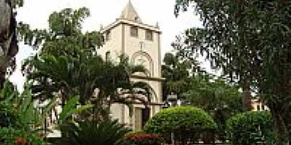 Igreja em Ribeir�o dos �ndios-Foto:araujo.lcarlos