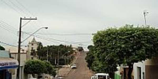 Rua em Ribeir�o dos �ndios-Foto:araujo.lcarlos