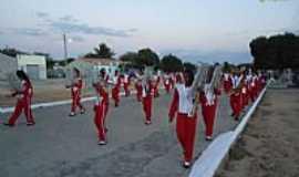 Quixabá - Fanfarra no Desfile em Quixabá-Foto:PortalQuixabá.