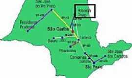 Ribeir�o Preto - Mapa