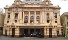 Ribeir�o Preto - Ribeir�o Preto-SP-Teatro Pedro II na Pra�a XV-Foto:Antonio de Andrade