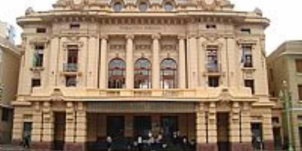 Ribeirão Preto-SP-Teatro Pedro II na Praça XV-Foto:Antonio de Andrade