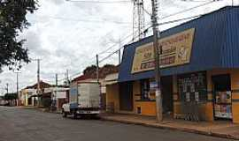 Ribeiro dos Santos - Ribeiro dos Santos-SP-Rua Comercial no centro do Distrito-Foto:olimpia24horas.com