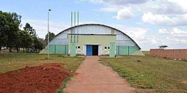 Ribeiro dos Santos-SP-Ginásio Poliesportivo-Foto:olimpia24horas.com