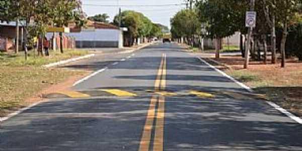 Ribeiro dos Santos-SP-Rua do Distrito-Foto:olimpia24horas.com