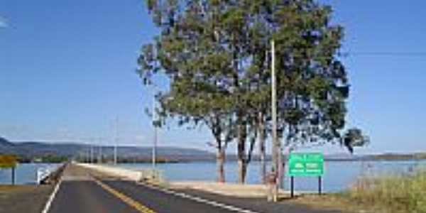 Ponte sobre o Rio Grande em Rifaina-SP-Foto:Altemiro Olinto Cris…