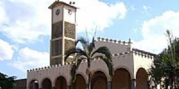 Igreja Matriz de São Luiz Gonzaga-Foto:Vicente A. Queiroz