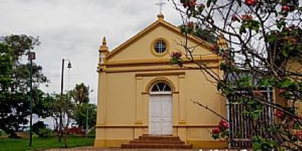 Rio das Pedras-SP-Capela de São João Batista-Foto:José Wilson Francischinelli