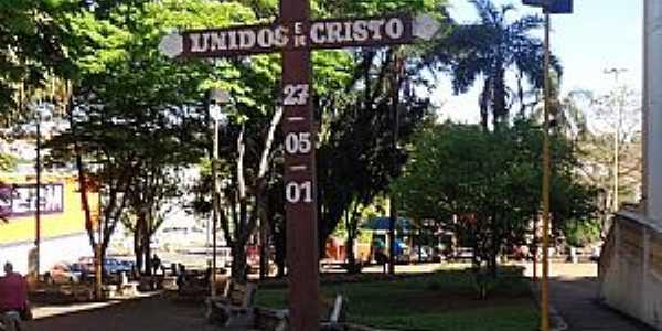 Rio das Pedras-SP-Cruzeiro da Igreja Matriz da Paróquia do Senhor Bom Jesus-Foto:José Wilson Francischinelli