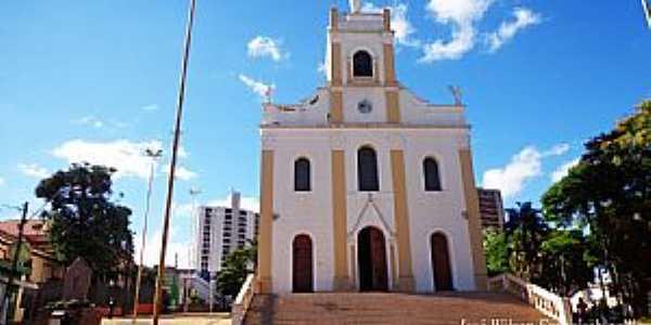 Rio das Pedras-SP-Igreja Matriz da Paróquia do Senhor Bom Jesus-Foto:José Wilson Francischinelli
