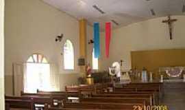 Roseira - Interior da Igreja Matriz de Sant�Ana em Roseira-SP-Foto:ROTAdoSAMBA CelsoCar�