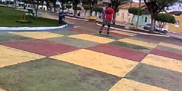 Rafael Jambeiro-BA-Praça central-Foto:Lucas Carmo