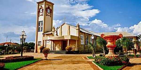 Igreja da Matriz de São Sebastião.
