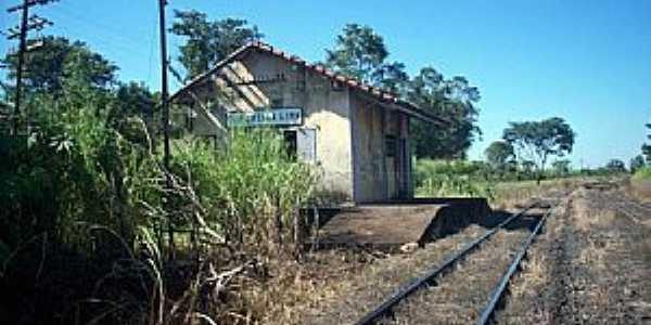 Sales Oliveira-SP-Esta��o no Distrito de Coronel Pereira Lima-Foto:Leonardo Figueiredo