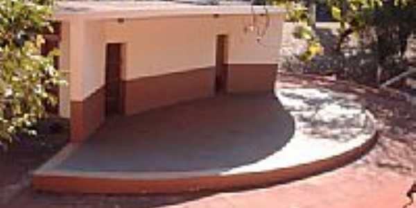 Concha Acústica na Rua Dr.Antônio Prado em Salto Grande-SP-Foto:whelighton
