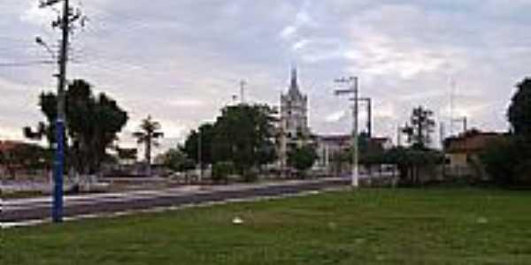 Praça da Matriz em Salto Grande-SP-Foto:whelighton