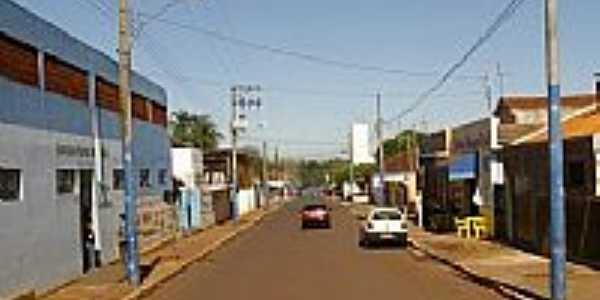 Rua Rui Barbosa,do Estádio, em Salto Grande-SP-Foto:whelighton