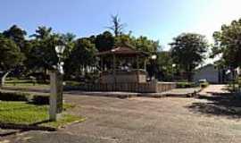 Santa Adélia - Santa Adélia-SP-Coreto na Praça Central-Foto:Amauri José Granzotto
