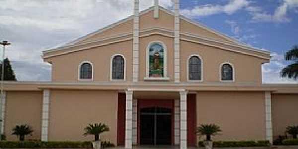 Santa Albertina-SP-Igreja de São Francisco de Assis-Foto:Luciano Pinatto