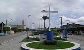Junqueiro - Praça Jonas Augusto de Almeida em Junqueiro-Foto:Sergio Falcetti