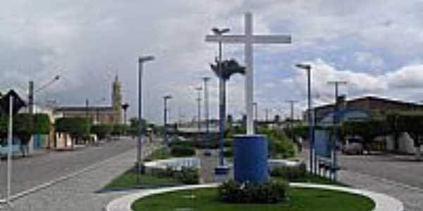 Praça Jonas Augusto de Almeida em Junqueiro-Foto:Sergio Falcetti
