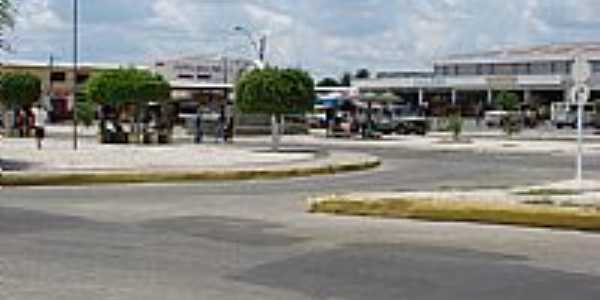 Remanso-BA-Praça Principal-Foto:Christovam Lopes Regis