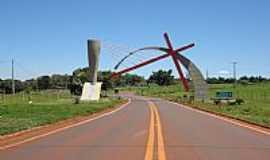 Santa Cruz do Rio Pardo - Santa Cruz do Rio Pardo-SP-Portal Tem�tico,entrada da cidade-Foto:Pe. Edinisio Pereira�