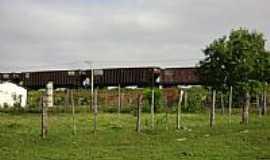 Santa Ernestina - Trem em Santa Ernestina-Foto:Betinho Ferreira