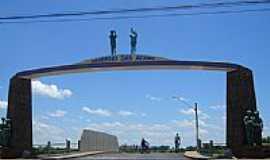 Santa Fé do Sul - Portal na estrada para o Parque turístico