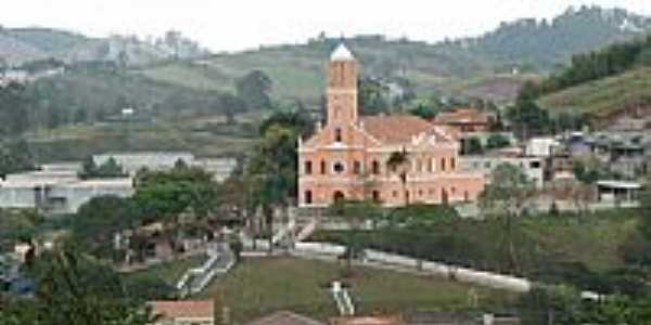 Santa Isabel-SP-Vista parcial da cidade e Matriz de Santa Isabel-Foto:FabioLaurindo