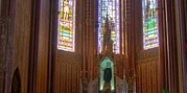 Altar Mor da Matriz de Santa Rita do Passa Quatro-SP-Foto:Emerson R. Zamprogno
