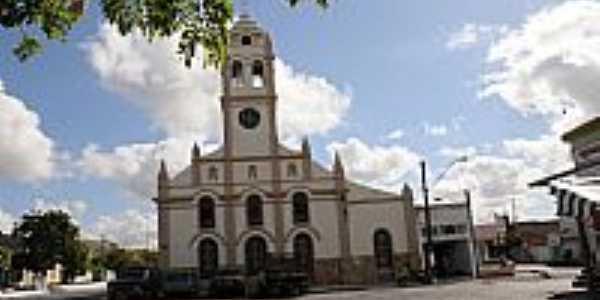 Igreja Matriz de Valente-BA-Foto:Jorge Hirata