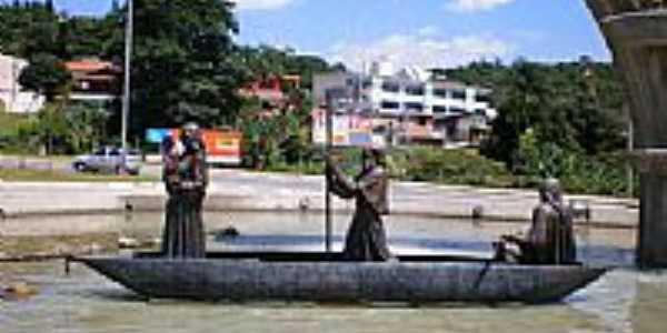 Monumento aos Bandeirantes em Santana de Parna�ba-SP-Foto:Udson Pinho