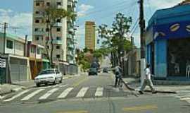 Santo André - Santo André-SP-Rua no Parque Jaçatuba-Foto:Nilton Cezar