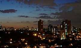Santo André - Vista noturna de Vila Assunção em Santo André-SP-Foto:Vanviski