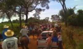 Santo Antônio da Alegria - cavalgada de abril , Por Luiz Carlos dos Santos