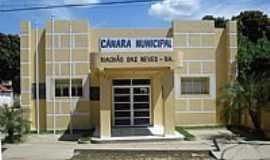 Riach�o das Neves - C�mara Municipal de Riach�o das Neves-BA-Foto:Wilton Cassiano dos �