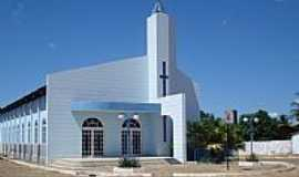 Riach�o das Neves - Igreja Matriz de Riach�o das Neves-BA-Foto:Wilton Cassiano dos �