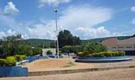 Riach�o das Neves - Pra�a Borges em Riach�o das Neves-BA-Foto:Wilton Cassiano dos �