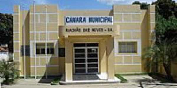 C�mara Municipal de Riach�o das Neves-BA-Foto:Wilton Cassiano dos �