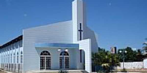 Igreja Matriz de Riach�o das Neves-BA-Foto:Wilton Cassiano dos �