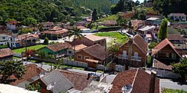 Santo Antônio do Pinhal-SP-Centro da cidade-Foto:mochileiros.com